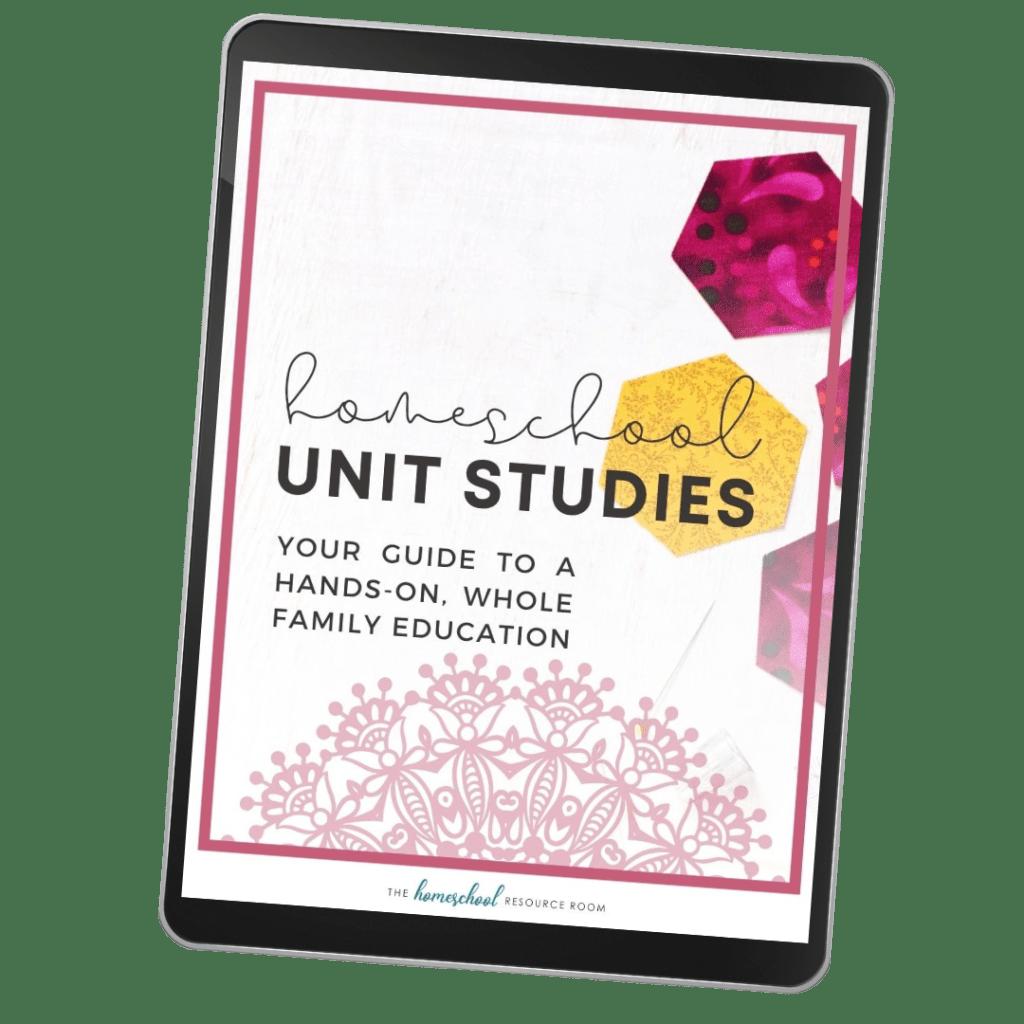 Homeschool Unit Studies eBook