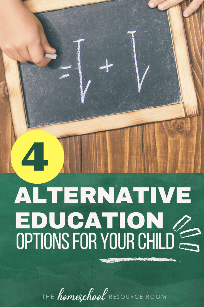 Alternative Education: What it is and 4 options for your child.