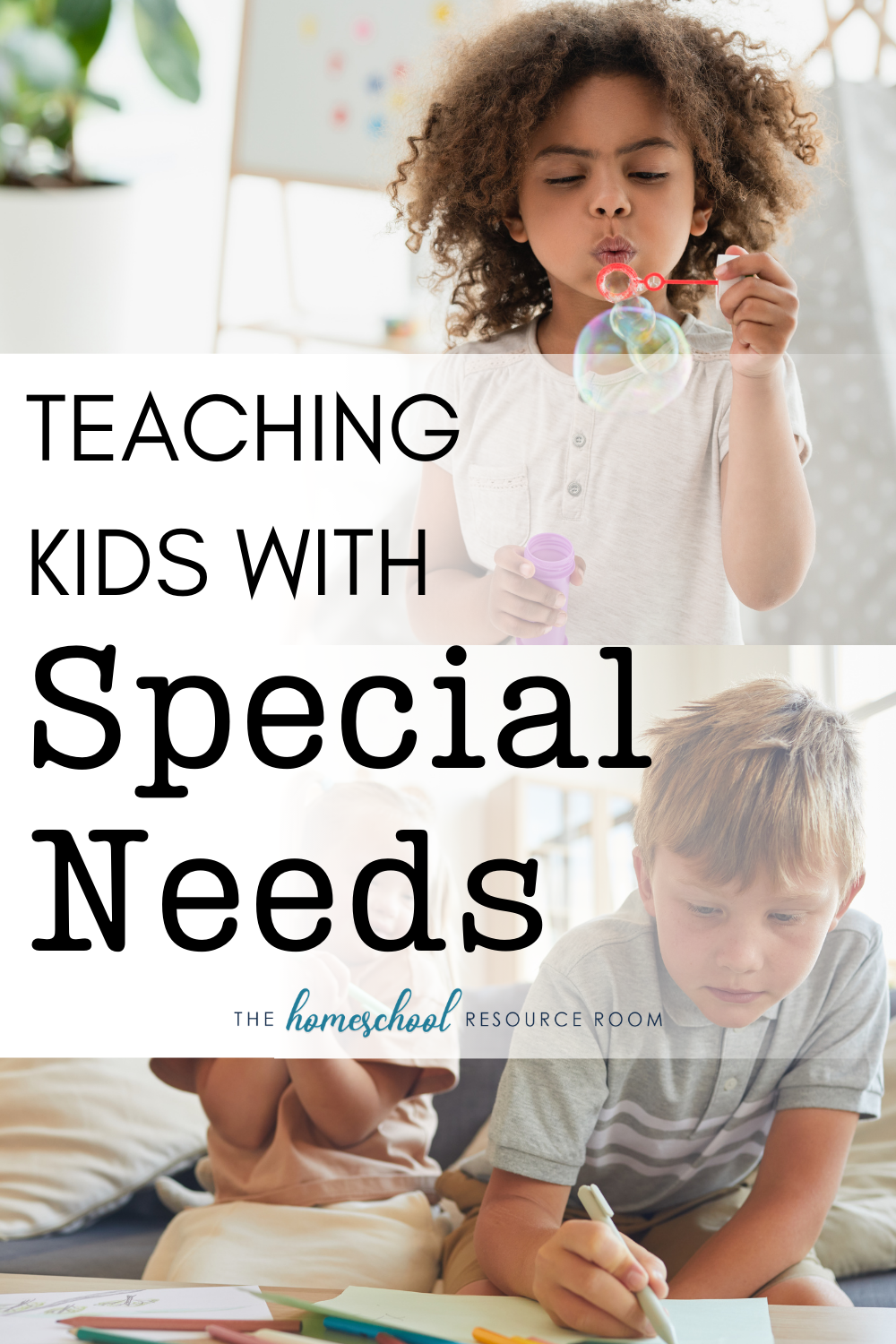 Working with special needs children: whether you're teaching or homeschooling - or wondering if homeschooling your special needs child is even possible. Tips for making the most of learning time.