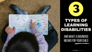 Types of learning disabilities & what a diagnosis means for your child.