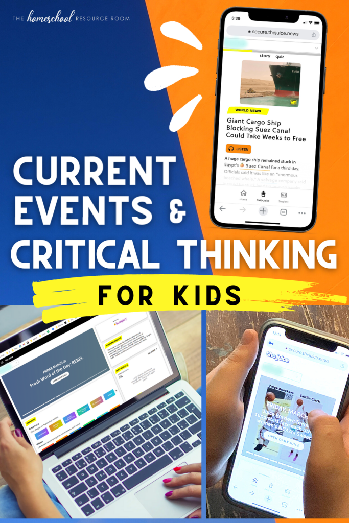 The Juice is a news source that puts media literacy and critical thinking front and center with engaging, balanced current events for kids.