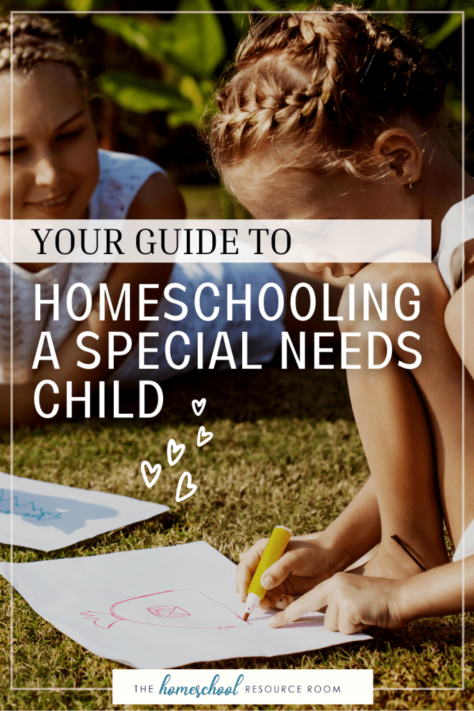 Homeschooling a special needs child? It can be done! Here is a simple guide to getting started on the right foot.
