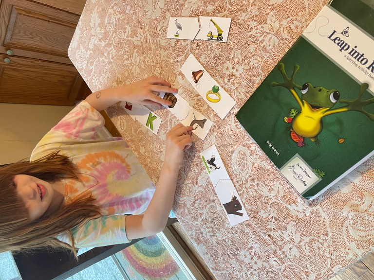 Phonics Curriculum: hands on learning with All About Reading