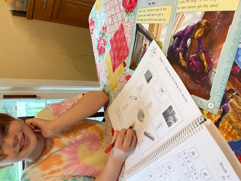 Phonics books and workbooks for kids