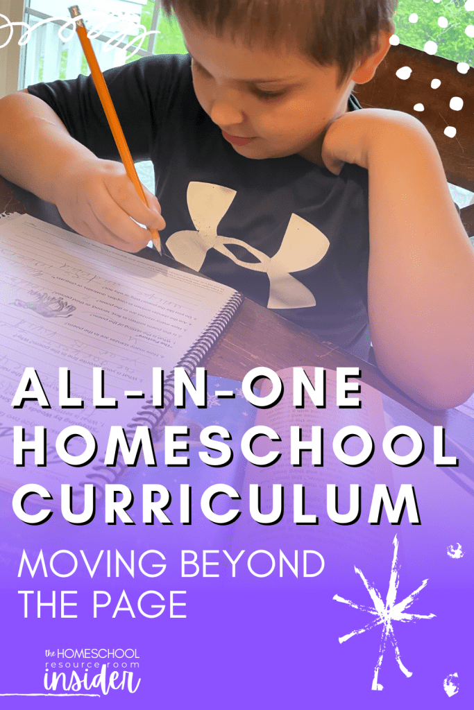 All in One Homeschool Curriculum: Our review of Moving Beyond the Page and recommendations for homeschool families.