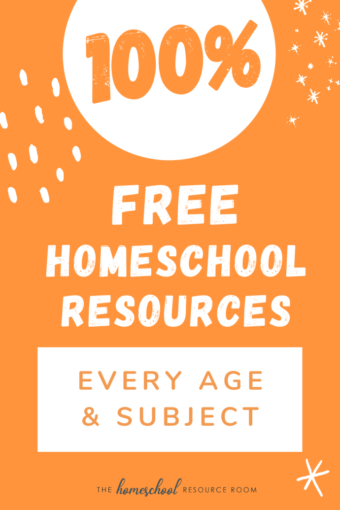 100& FREE Homeschool Resources online and near you!