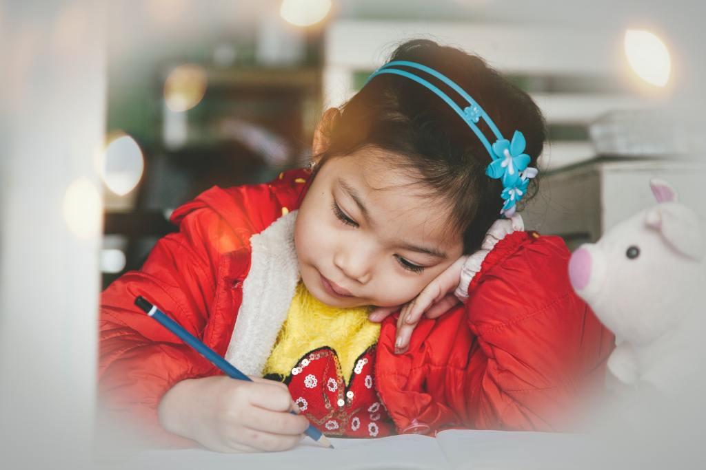 Kid hates writing