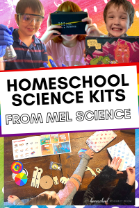Homeschool Science Kits from MEL Science. Our experience and review of MEL Kids and MEL Chemistry kits: hands-on science and STEM subscriptions boxes for kids.