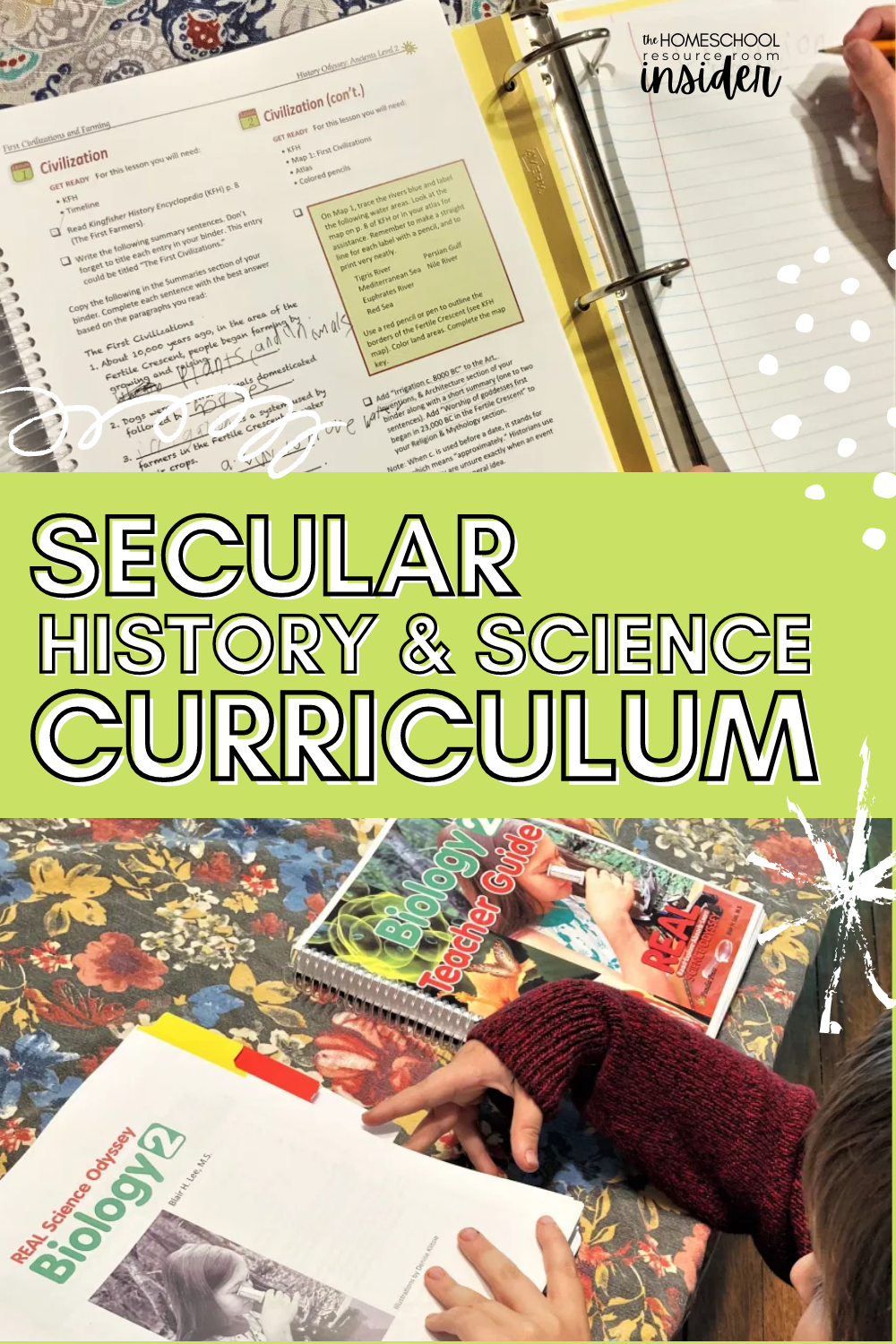 Review of Pandia Press secular homeschool curriculum: Real Science Odyssey and History Odyssey