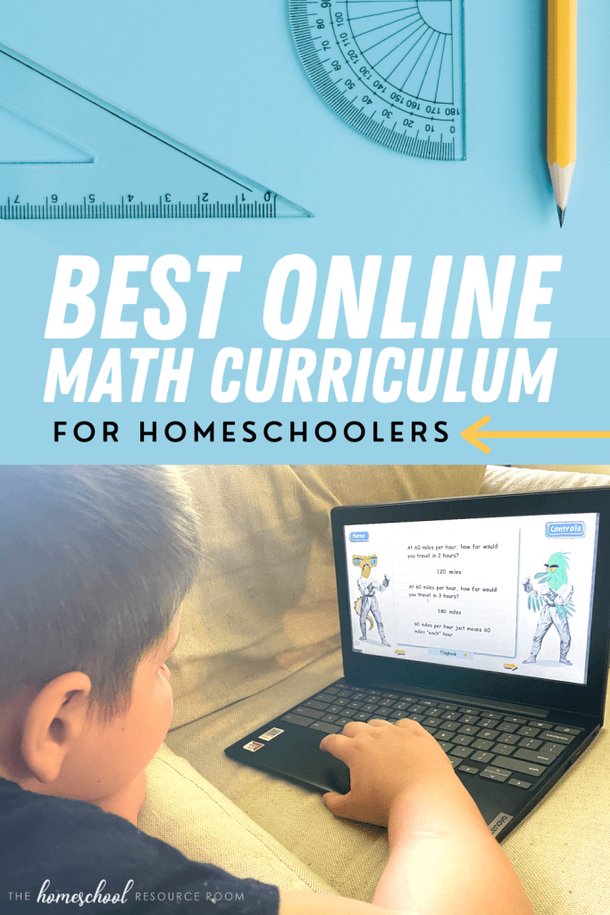 Best homeschool math curriculum online! Full review of Teaching Textbooks, our top recommendation for an engaging, supportive math program especially helpful for struggling students.
