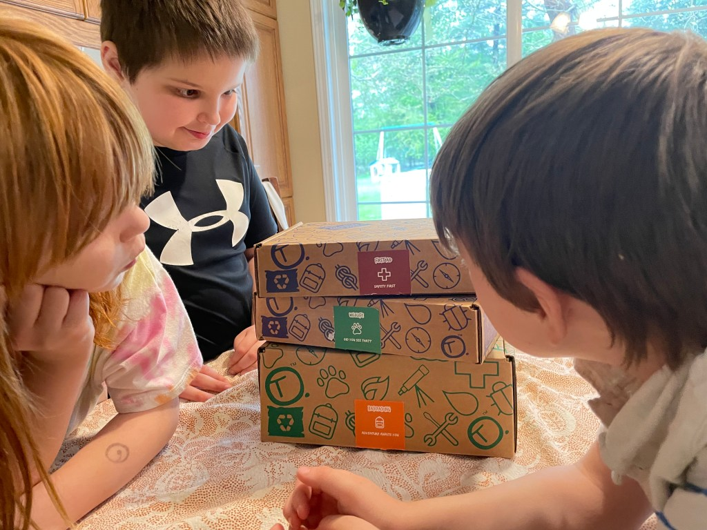 Think Outside Boxes: Homeschool Nature Curriculum