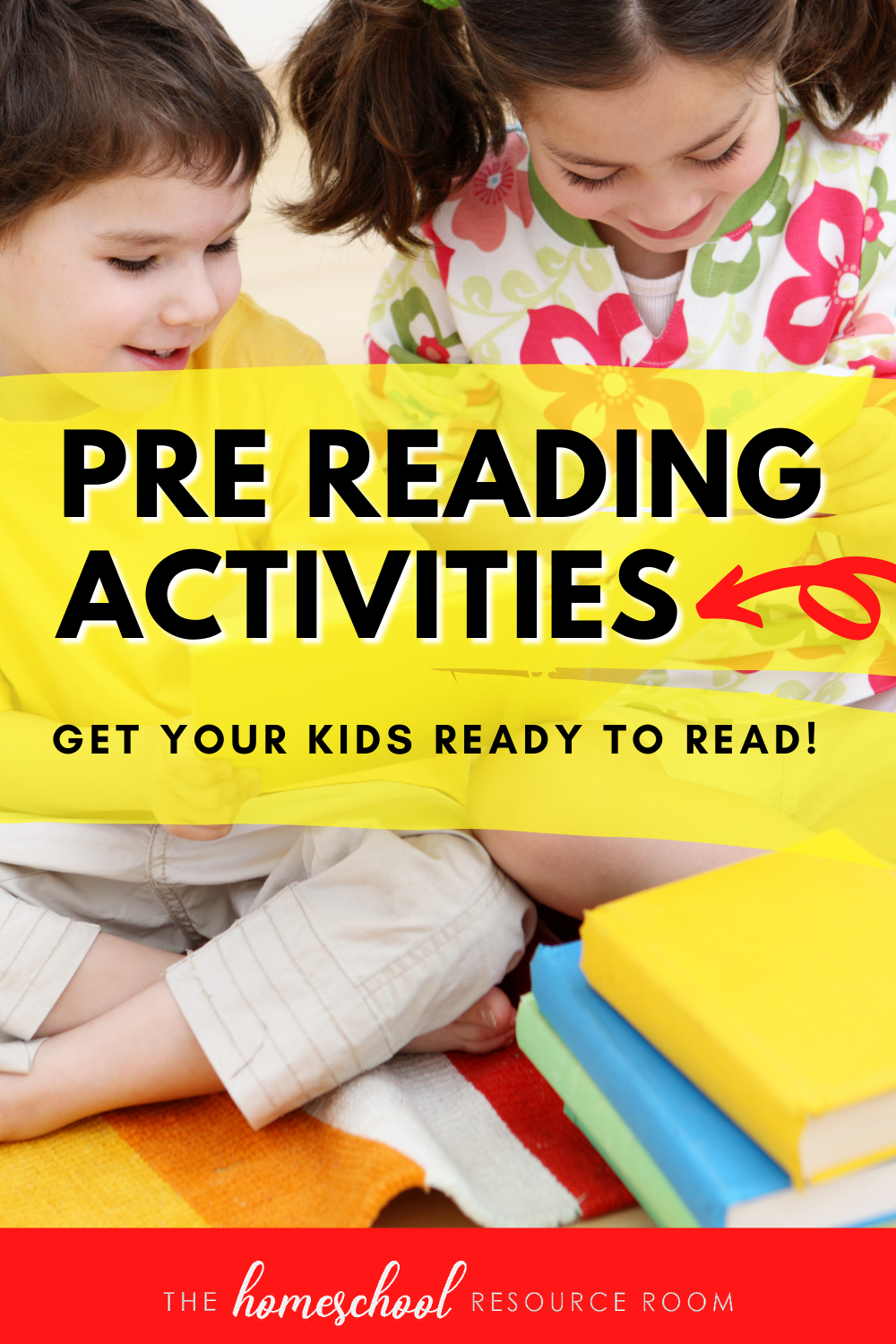 There's so many more pre reading activities you can do besides sing the ABC's. Here's how to build phonological awareness & language skills!