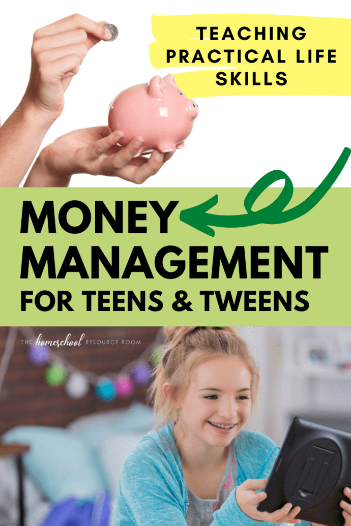 Money management for teens & tweens. Teaching practical life skills, plus recommendation for a program that will help your child with financial literacy and provides additional support for parents.