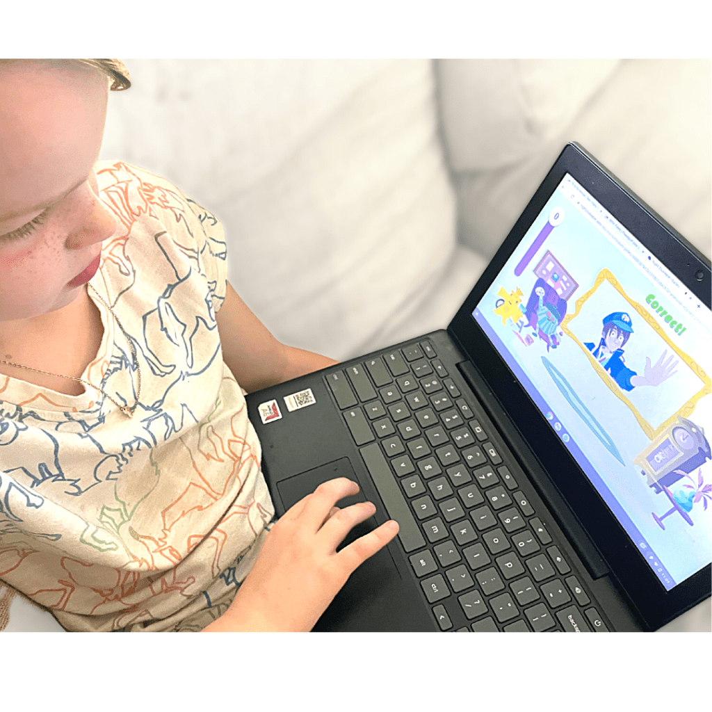 Night Zookeeper Review; Fun Online Language Arts Curriculum