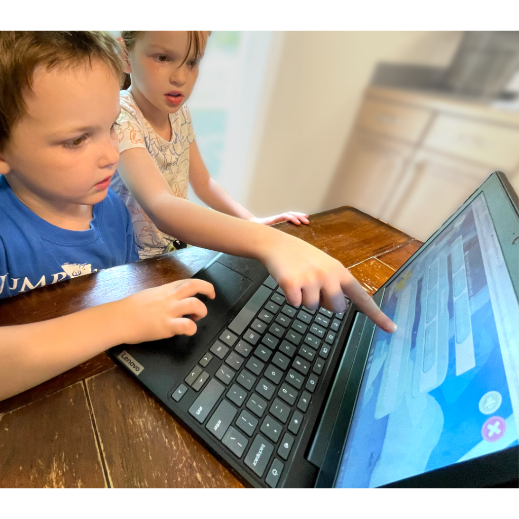 Night Zookeeper Review; Six and Eight Year Olds Learning Online Together