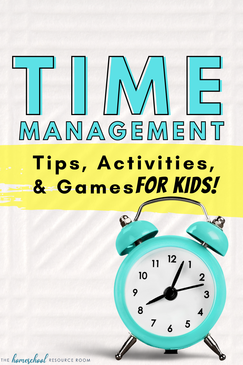 Kids and teens with ADHD, Autism, and other diagnoses often need time management activities to help them succeed in school and at home.