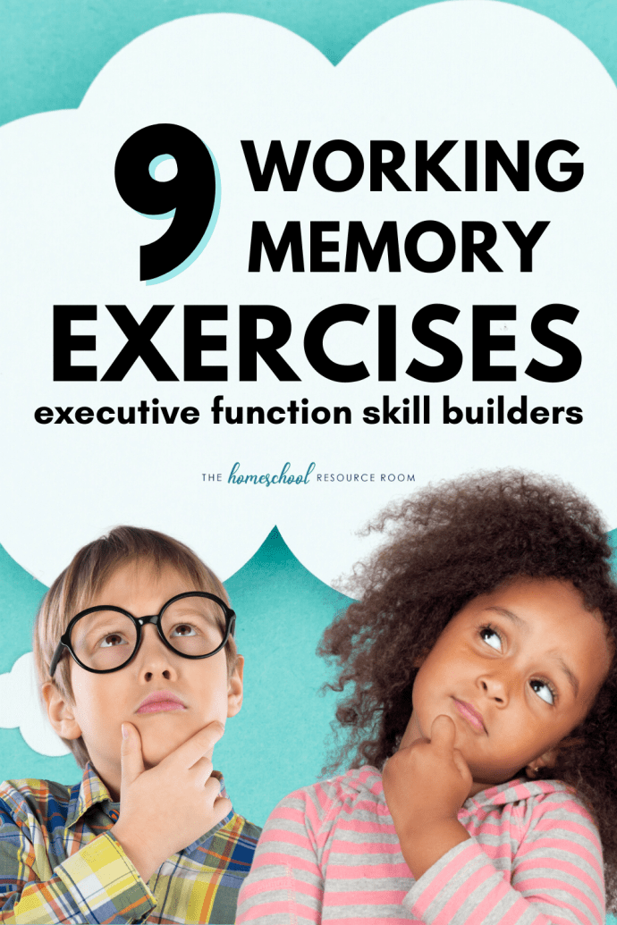 Working memory exercises for kids. Build executive function skills with working memory activities and games.
